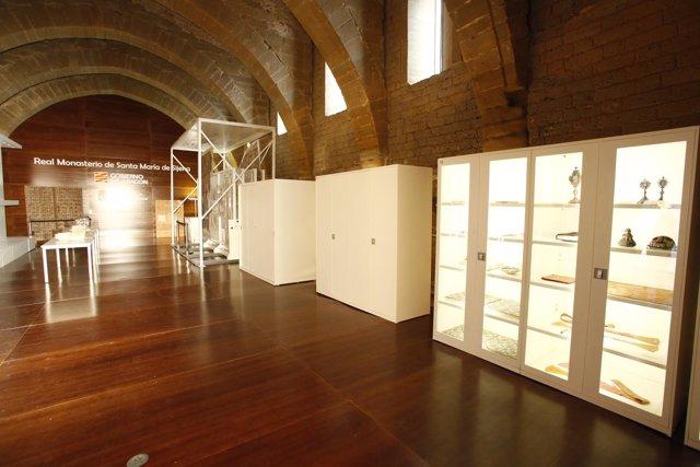 El Monasterio de Sijena está ya preparado para recibir las 44 obras de arte