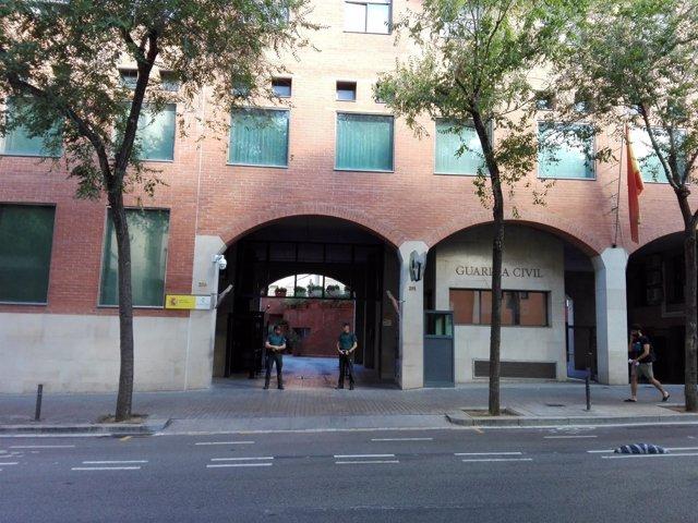 Comandancia de la Guardia Civil de Barcelona