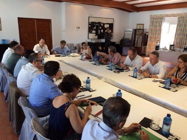 Consejo de Dirección ampliado de la Consejería de Medio Ambiente.