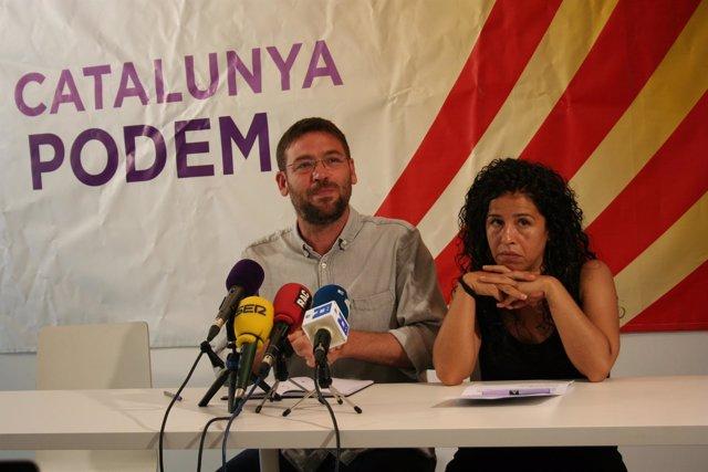 Albano-Dante Fachin y Ruth Moreta (Podem)