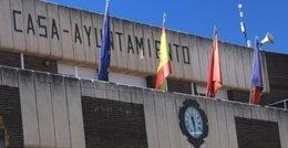 Fachada del Ayuntamiento de Moraleja de Enmedio