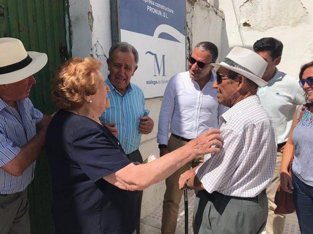 Bendodo visita Riogordo