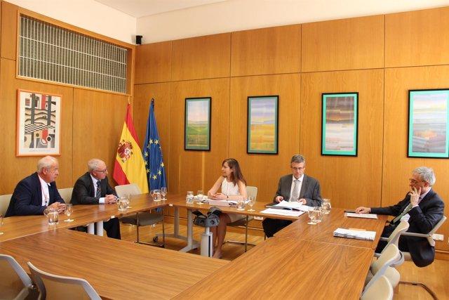 Reunión sobre el pacto nacional del agua