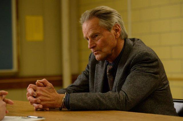 """SAM SHEPARD as Calvin Meyer in director Jeff Nichols' sci-fi thriller """"MIDNIGHT"""