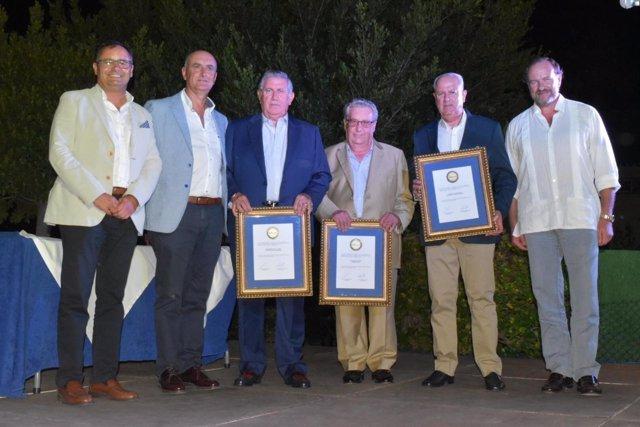 Premiados en la gala de 'Érase una vez' de la FOE.