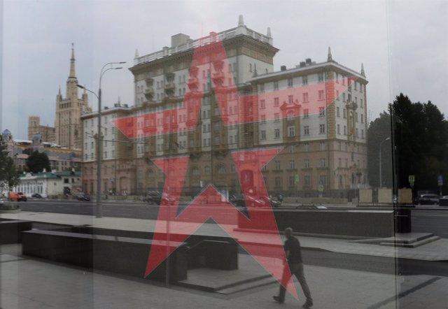 Embajada estadounidense en Moscú