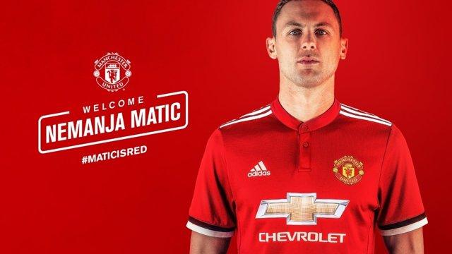 El Manchester United hace oficial el fichaje de Matic por las próximas tres temp