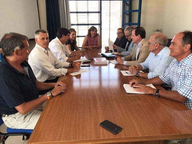 Reunión del sector pesquero andaluz con Cs