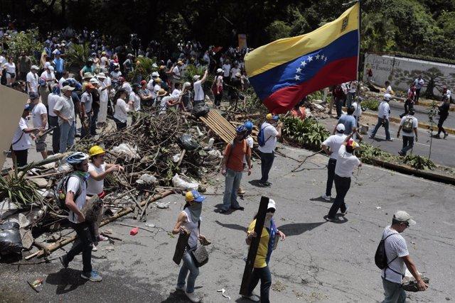 Barricada de la oposición