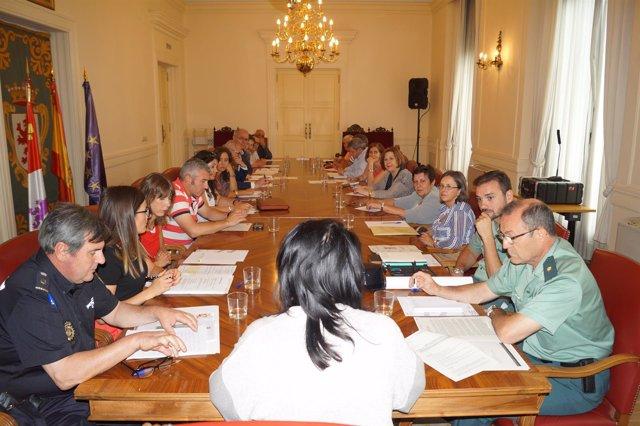 Reunión de la subdelegada del Gobierno con las fuerzas y cuerpos de seguridad