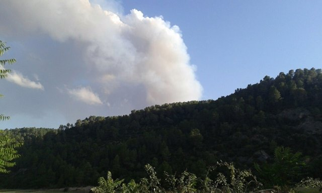 Incendio Campillo Altobuey