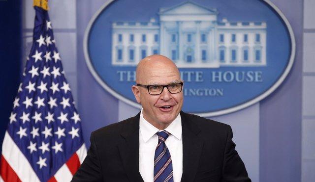 El asesor de Seguridad Nacional de la Casa Blanca, H.R. McMaster