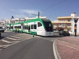 Aprobados 18,7 millones para finalizar el tramo Chiclana-San Fernando del Tren Tranvía Bahía de Cádiz