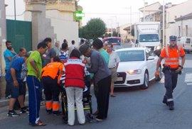 Un herido grave al ser atropellado en un paso de cebra en Cadreita