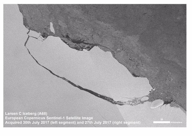 Iceberg gigante A68