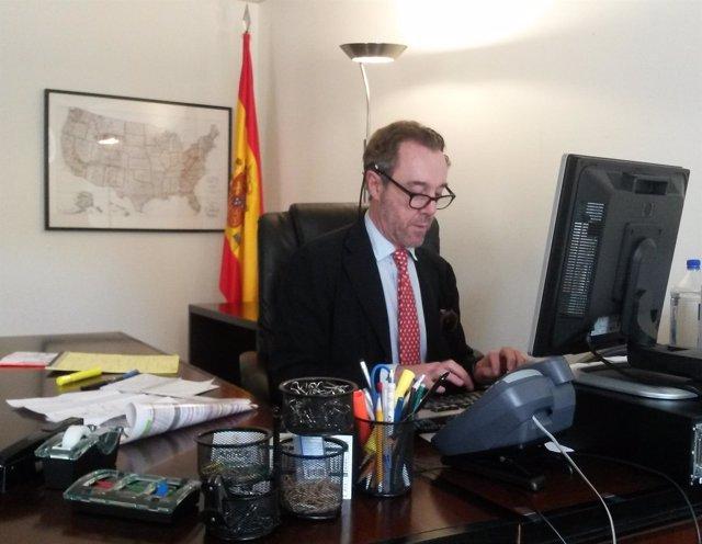 El excónsul de España en Washington, Enrique Sardà Valls