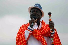 El líder de la oposición de Kenia considera que solo puede perder las elecciones si el Gobierno comete fraude