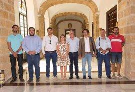 Diputación muestra su apuesta decidida por la Federación de Cofradías de Pescadores