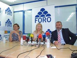 """Coto (Foro) recalca que Javier Fernández no tiene derecho a """"condenar"""" a Asturias con una """"mala"""" financiación autonómica"""