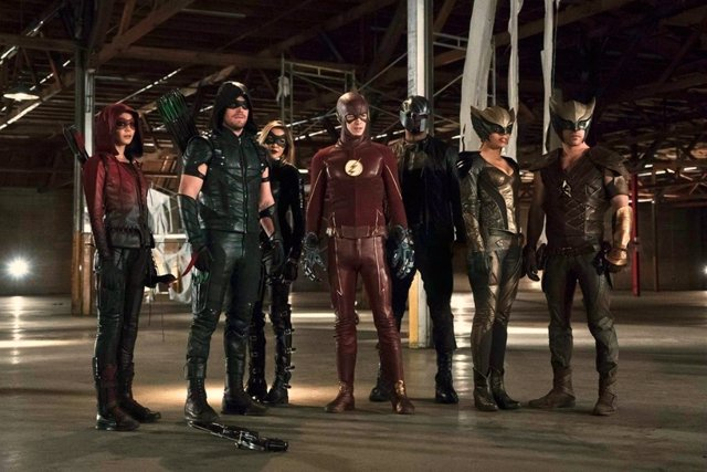 Crossover entre Arrow, The Flash, Supergirl y Legends of Tomorrow