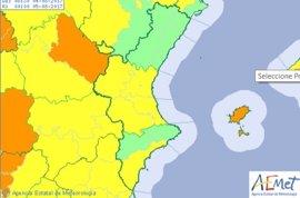 Valencia y el sur de Alicante, en aviso amarillo este viernes por altas temperaturas de hasta 38 grados