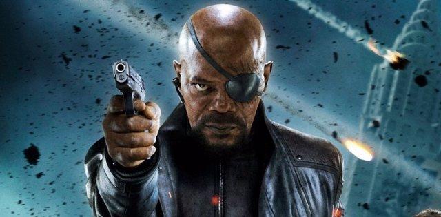 Samuel L. Jackson no llevará parche en Captain Marvel