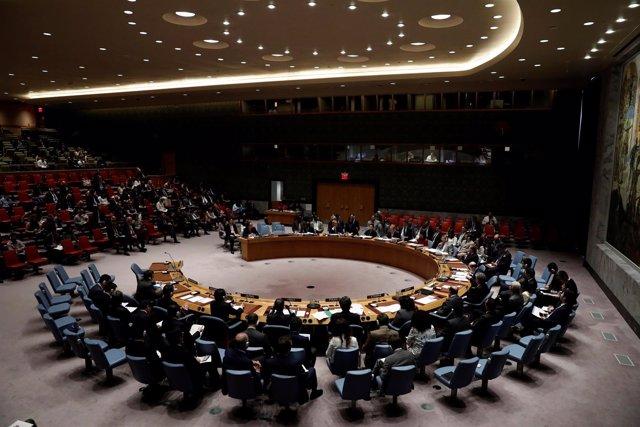 Imagen del Consejo de Seguridad de la ONU.