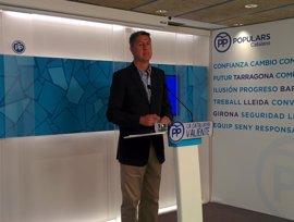 Albiol pide al Govern que medie para acabar con la huelga del aeropuerto del Prat
