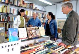 """Abre sus puertas la """"peculiar y prestigiosa"""" Feria del Libro Viejo"""