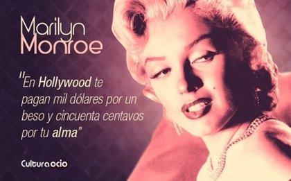 Marilyn Monroe: 10  frases para recordar a 'La Ambición Rubia'
