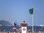 Foto: La bandera amarilla ondea este domingo en 12 playas vizcaínas y en el resto el baño es libre