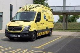 Un muerto y un herido crítico en un accidente de tráfico en Esplugues de Llobregat
