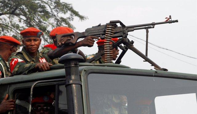 Militares en RDCongo