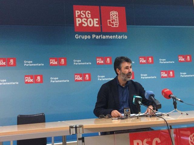 El diputado del PSdeG Juan Díaz Villoslada