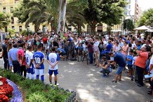 Presentación CD Tenerife