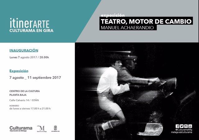 Exposición teatro motor cambio istán málaga diputación