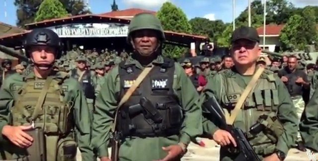 Jesús Suárez Chourio, comandante del Ejército de Venezuela