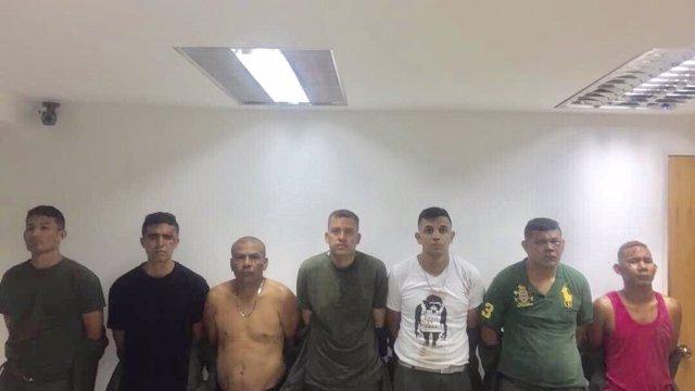 Detenidos por el asalto en Valencia (Venezuela)