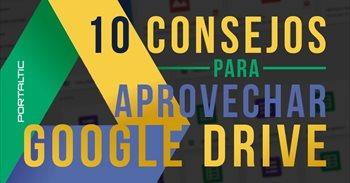 Diez trucos para sacarle el máximo partido a Google Drive