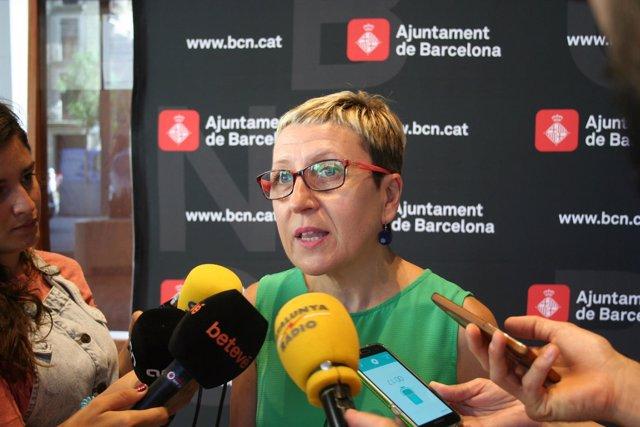 La concejal del distrito de Sant Andreu de Barcelona, Carmen Andrés