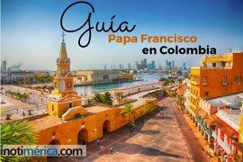 Guía de la visita del papa Francisco a Colombia