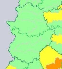 Sin alertas en Extremadura
