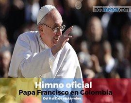 Himno oficial de la visita del papa Francisco a Colombia el próximo mes de septiembre