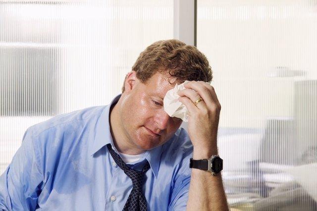 Sudoración excesiva/ hiperhidrosis