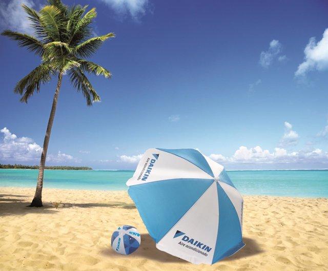 Campaña de Daikin en las playas
