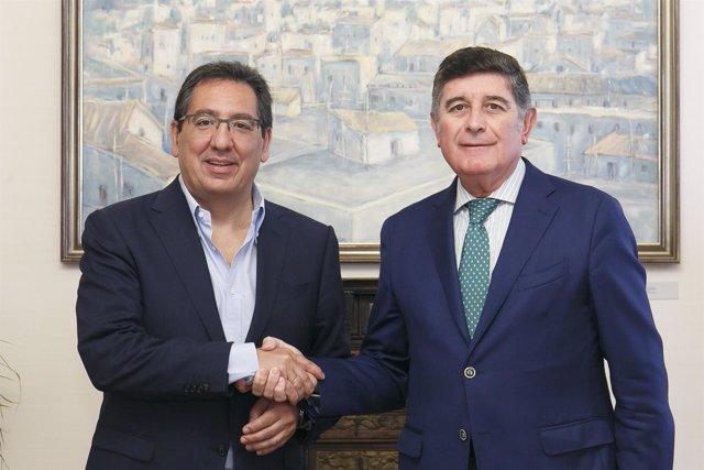 Cajasol y Mehuer renuevan el convenio de investigación de enfermedades raras
