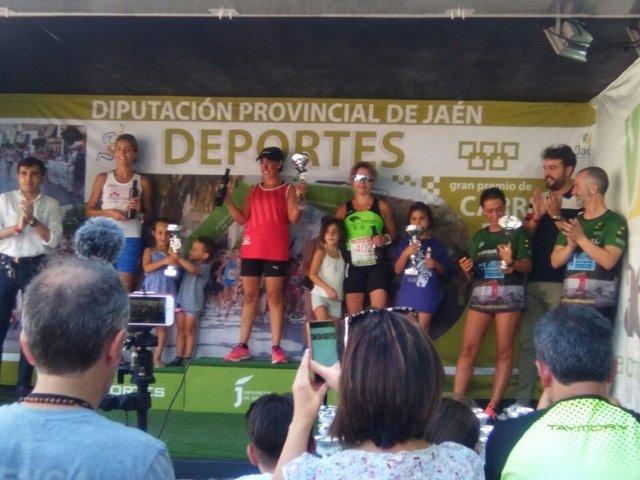 Entrega de premios de la XV Carrera Urbana Sierra Mágina Villa de Bedmar.