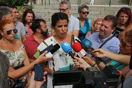 "Teresa Rodríguez pide ""depurar responsabilidades"" por el incendio en un hotel de Tarifa (Cádiz)"
