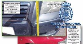 Policía Nacional detiene a cinco amigos por simular accidentes de tráfico y defraudar 20.000 euros