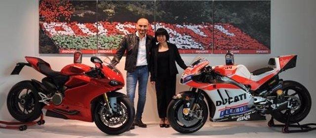 Acuerdo de colaboración entre Ducati y Shell